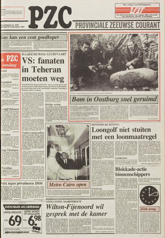 Provinciale Zeeuwse Courant 1987-09-28