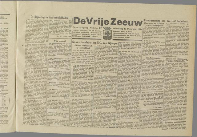 de Vrije Zeeuw 1944-12-13