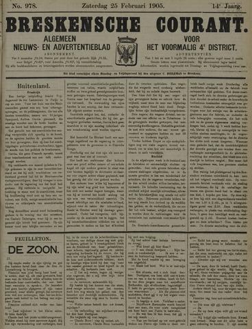 Breskensche Courant 1905-02-25