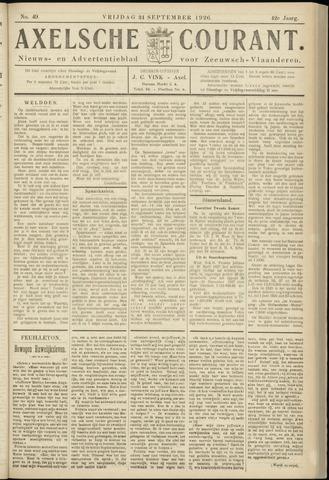 Axelsche Courant 1926-09-24