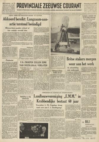 Provinciale Zeeuwse Courant 1957-04-03