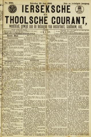 Ierseksche en Thoolsche Courant 1906-06-23