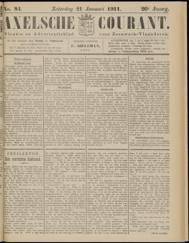 Axelsche Courant 1911-01-21