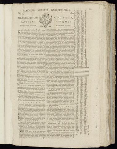 Middelburgsche Courant 1801-05-23