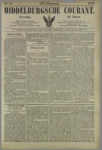 Middelburgsche Courant 1887-03-26