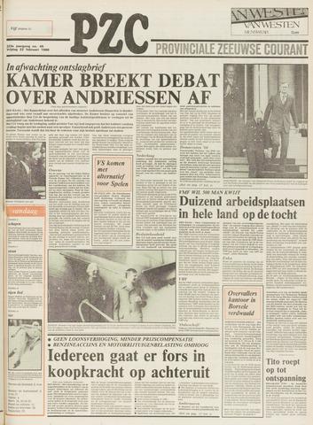 Provinciale Zeeuwse Courant 1980-02-22