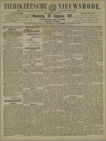 Zierikzeesche Nieuwsbode 1911-08-30