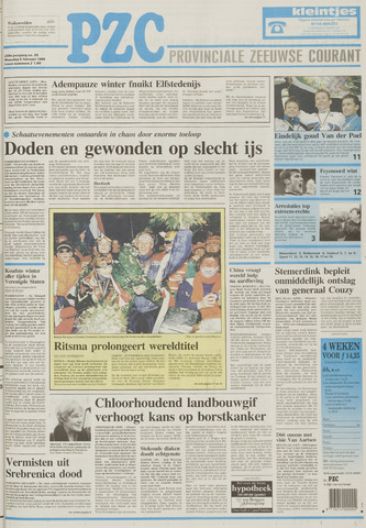 Provinciale Zeeuwse Courant 1996-02-05