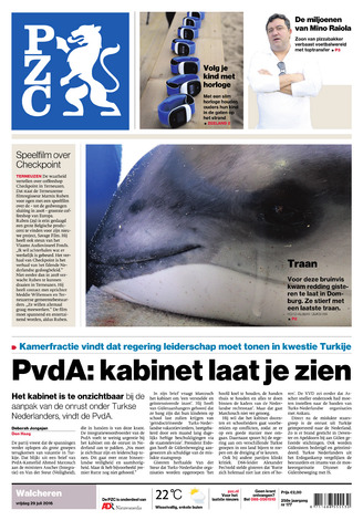 Provinciale Zeeuwse Courant 2016-07-29