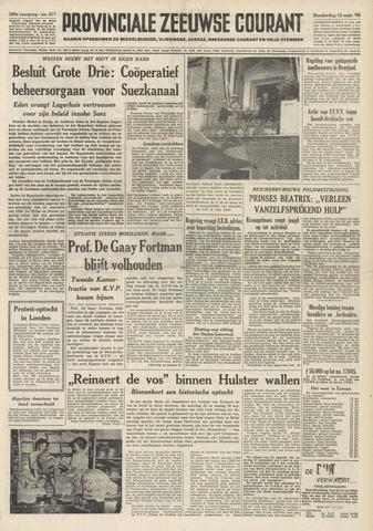 Provinciale Zeeuwse Courant 1956-09-13
