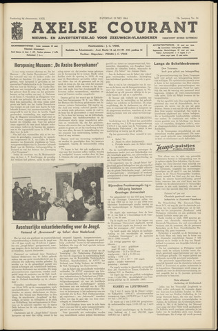 Axelsche Courant 1964-05-23