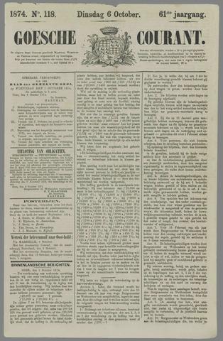 Goessche Courant 1874-10-06