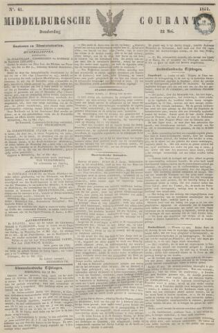 Middelburgsche Courant 1851-05-22