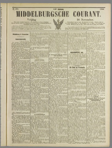Middelburgsche Courant 1906-11-16
