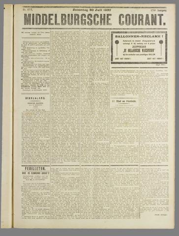 Middelburgsche Courant 1927-07-30