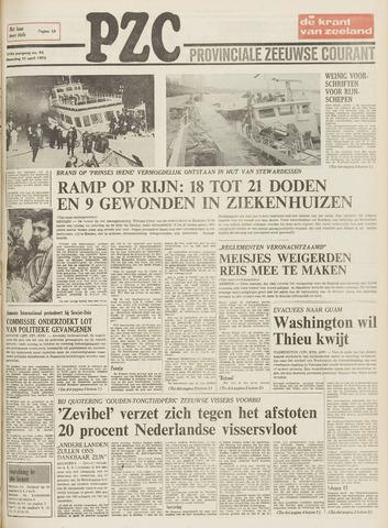 Provinciale Zeeuwse Courant 1975-04-21