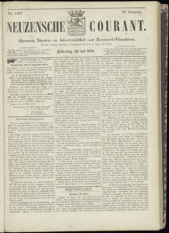 Ter Neuzensche Courant. Algemeen Nieuws- en Advertentieblad voor Zeeuwsch-Vlaanderen / Neuzensche Courant ... (idem) / (Algemeen) nieuws en advertentieblad voor Zeeuwsch-Vlaanderen 1876-07-29
