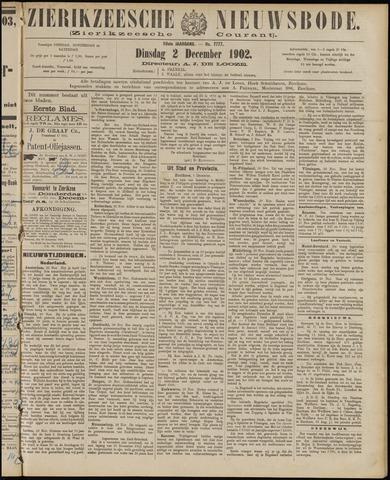 Zierikzeesche Nieuwsbode 1902-12-02