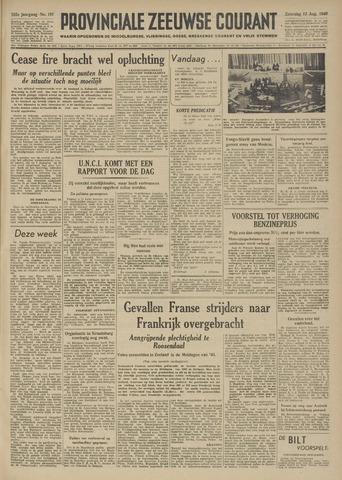Provinciale Zeeuwse Courant 1949-08-13