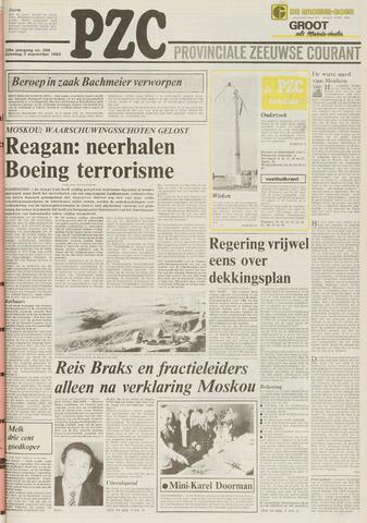 Provinciale Zeeuwse Courant 1983-09-03