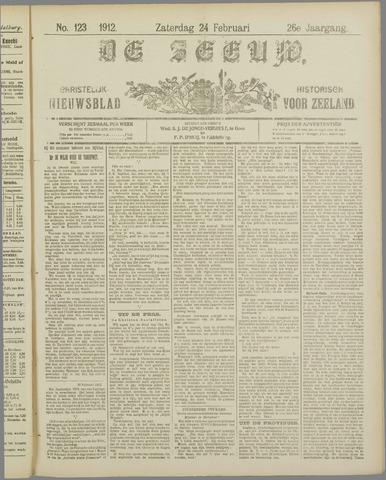 De Zeeuw. Christelijk-historisch nieuwsblad voor Zeeland 1912-02-24