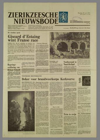 Zierikzeesche Nieuwsbode 1974-05-20