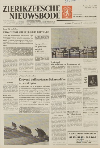 Zierikzeesche Nieuwsbode 1973-06-04