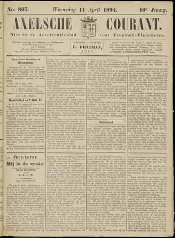 Axelsche Courant 1894-04-11