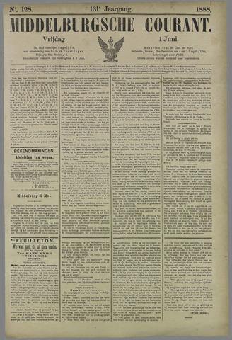 Middelburgsche Courant 1888-06-01