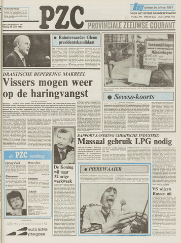Provinciale Zeeuwse Courant 1983-04-22