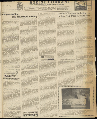 Axelsche Courant 1955-11-12