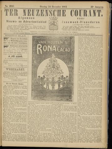 Ter Neuzensche Courant. Algemeen Nieuws- en Advertentieblad voor Zeeuwsch-Vlaanderen / Neuzensche Courant ... (idem) / (Algemeen) nieuws en advertentieblad voor Zeeuwsch-Vlaanderen 1912-12-24