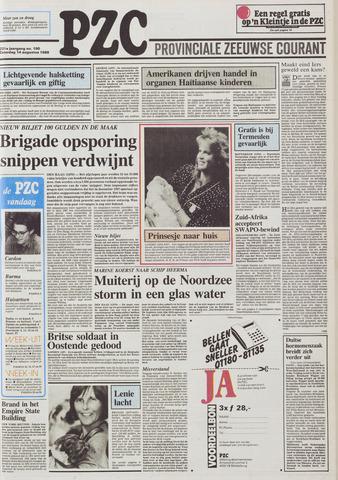 Provinciale Zeeuwse Courant 1988-08-13