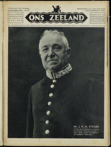 Ons Zeeland / Zeeuwsche editie 1934-11-16