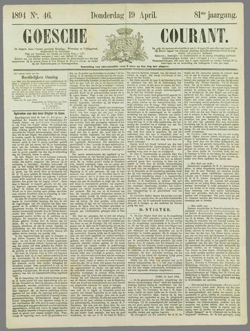 Goessche Courant 1894-04-19