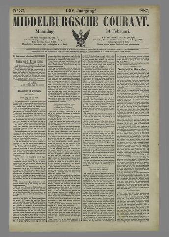 Middelburgsche Courant 1887-02-14