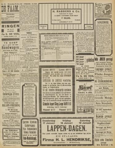 de Faam en de Faam/de Vlissinger 1924-01-16