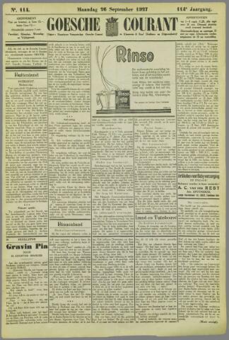 Goessche Courant 1927-09-26