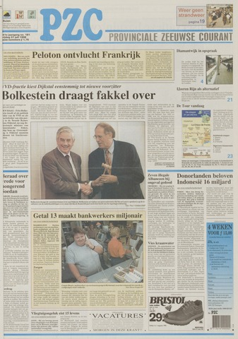 Provinciale Zeeuwse Courant 1998-07-31