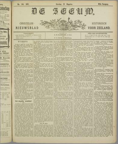 De Zeeuw. Christelijk-historisch nieuwsblad voor Zeeland 1897-08-28