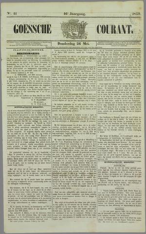 Goessche Courant 1859-05-26