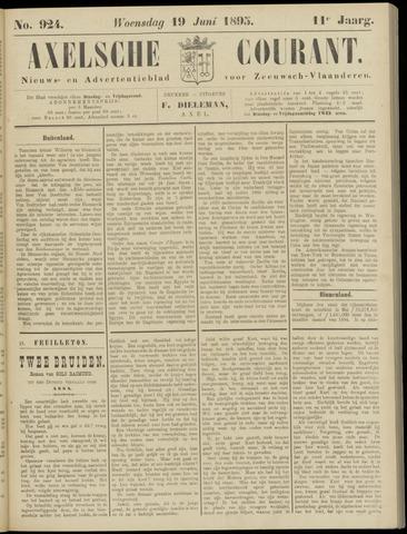 Axelsche Courant 1895-06-19