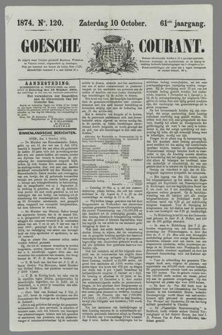 Goessche Courant 1874-10-10