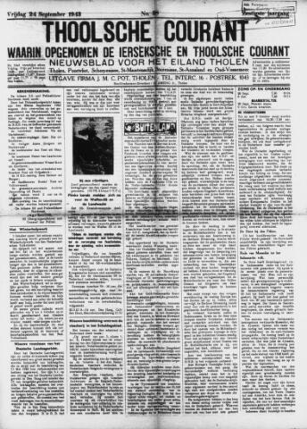Ierseksche en Thoolsche Courant 1943-09-24