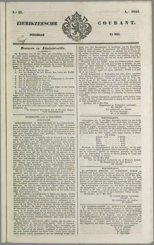 Zierikzeesche Courant 1844-05-21
