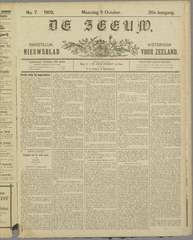 De Zeeuw. Christelijk-historisch nieuwsblad voor Zeeland 1905-10-09