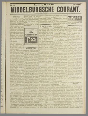 Middelburgsche Courant 1925-05-28