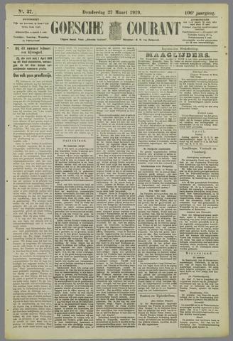 Goessche Courant 1919-03-27