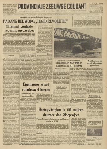 Provinciale Zeeuwse Courant 1958-04-03