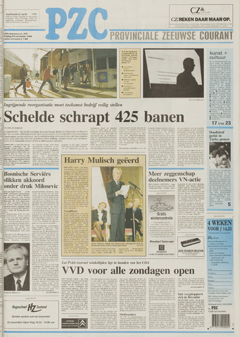Provinciale Zeeuwse Courant 1995-11-24